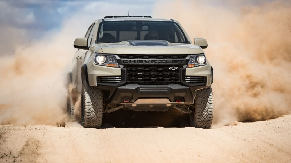 Chevrolet Colorado ZR2 2021: Ford Ranger Raptor-baiting tough truck re