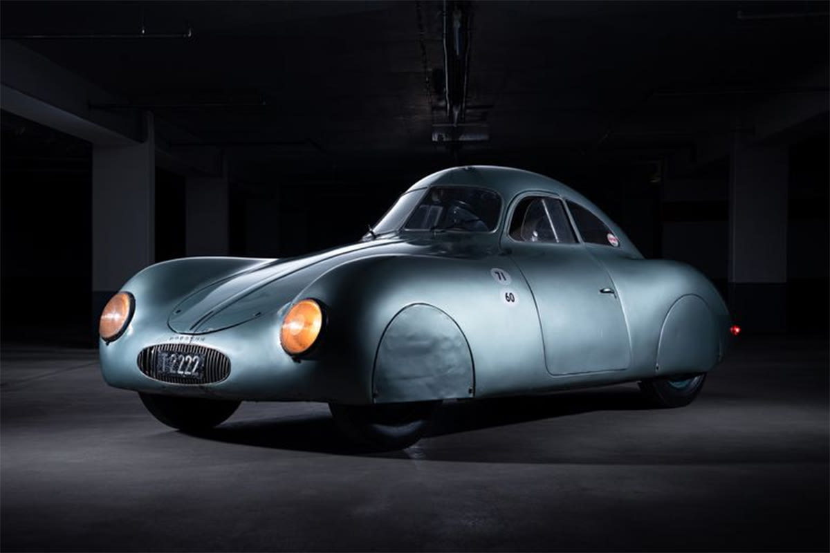 1940 Porsche Prototype Expected To Sell For Us 20 Million