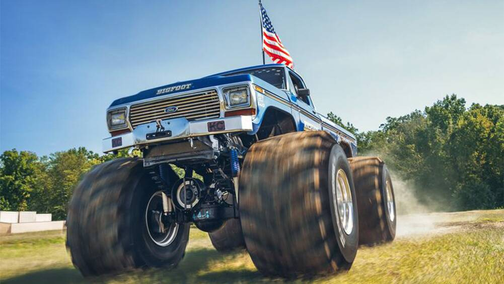 Bigfoot Is Real Driving The Original Monster Truck Carsguide Oversteer