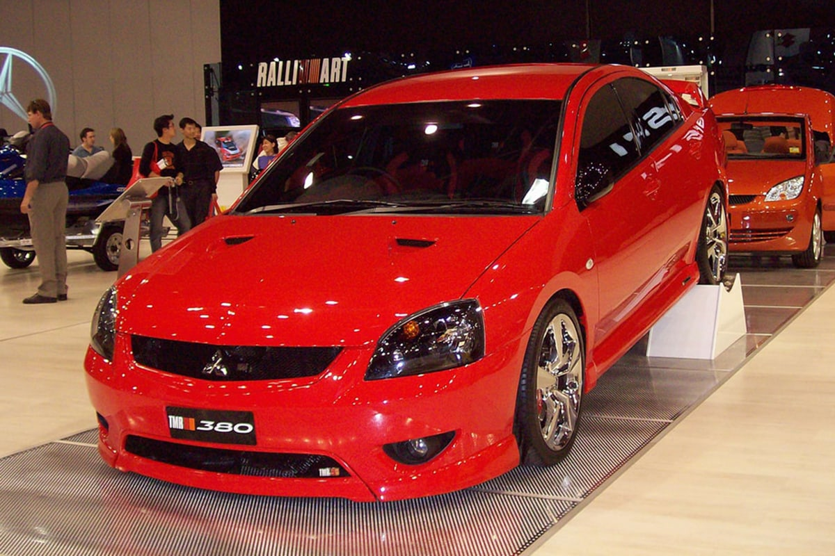Remember the 380? Do you recall the supercharged Ralliart