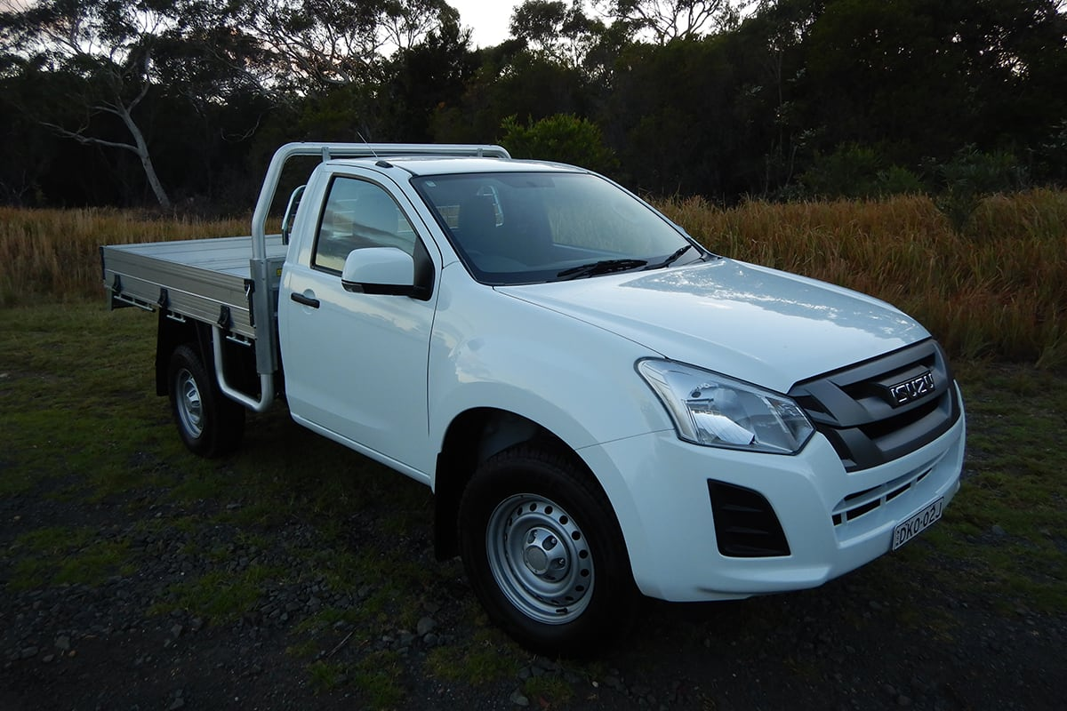 Isuzu D Max 2018 Review Sx 4x4 Single Cab Chassis Carsguide