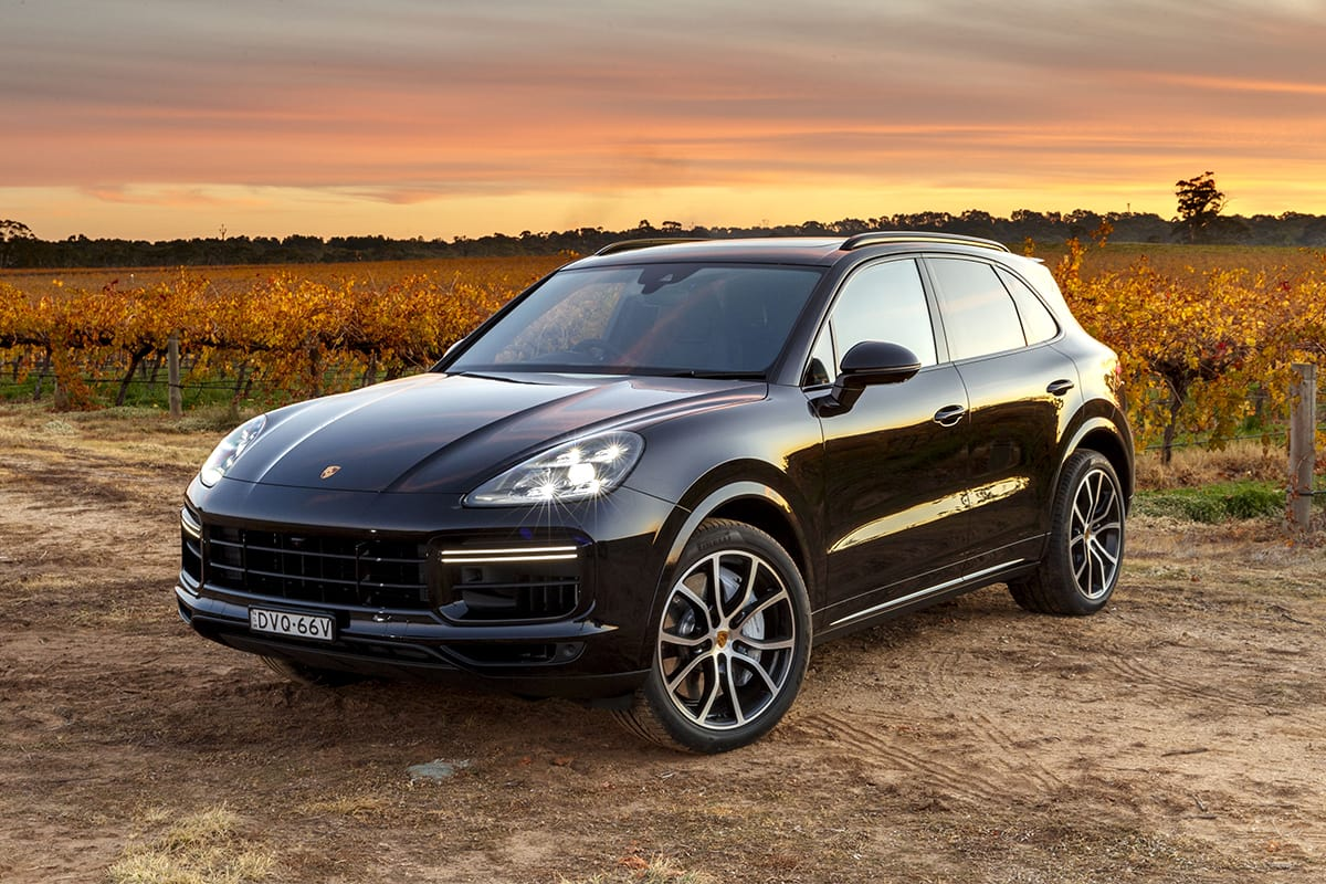 Porsche Cayenne Turbo 2018 Review Snapshot Carsguide