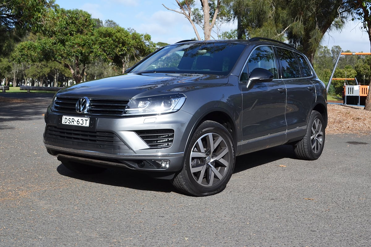 Vw Touareg 2018 Review Carsguide