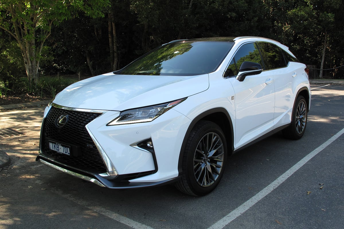 Lexus Rx 350 Sports Luxury 2019 Review Carsguide