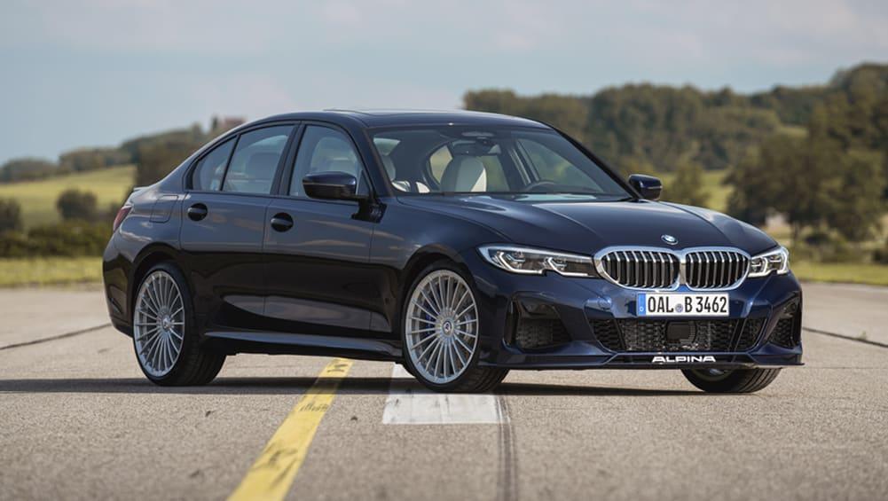 BMW M3's more comfort-orientated cousin breaks cover: Alpina B3 sedan