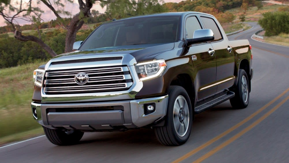 Toyota Tundra 2021 gets factory upgrade