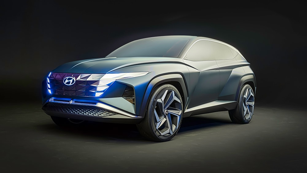 Hyundai Vision T 2021 revealed: Plug-in hybrid concept previews new Tu