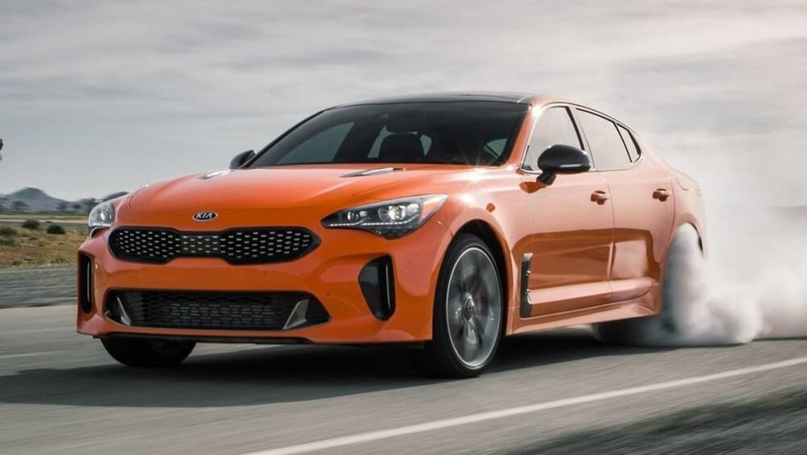 New Kia Stinger 2021 Facelift Detailed More Powerful Twin Turbo V6 On The Way After All Report Car News Carsguide