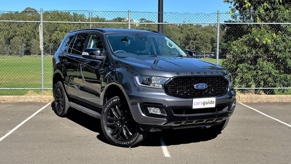 Ford Everest 2020 Review Sport 4x4 Carsguide