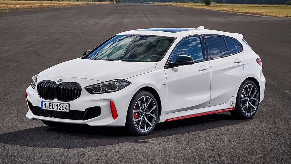 2021 bmw 128ti detailed new hyundai i30 n and vw golf gti
