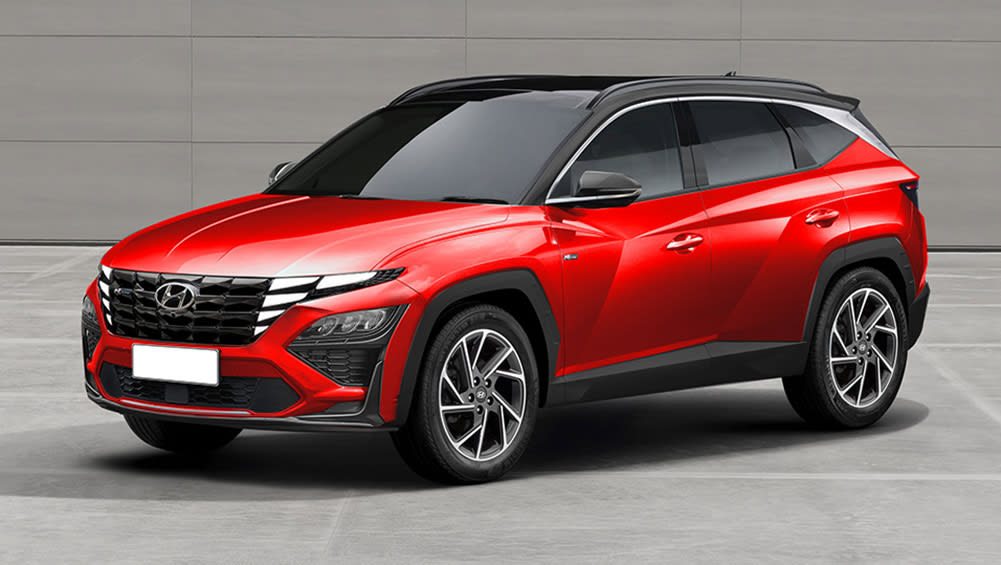 would you buy a new hyundai tucson n 2021 if it looked