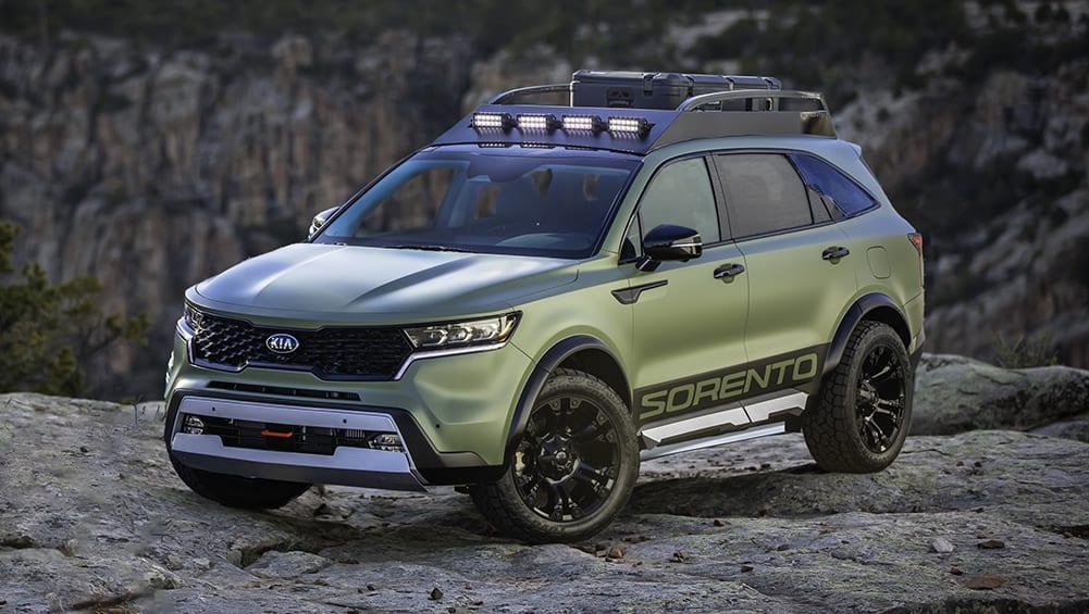 2021 Kia Sorento channels inner Toyota Land Cruiser with ...