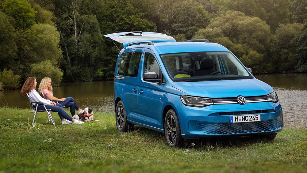 New VW Caddy California 2021: Next-generation camper van ...