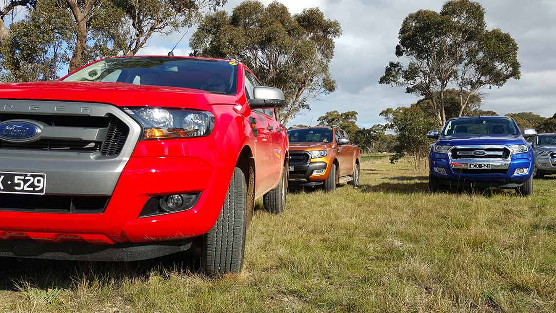 2015 Ford Ranger Xl And Xls Miss Out On Update Highlights Car News Carsguide