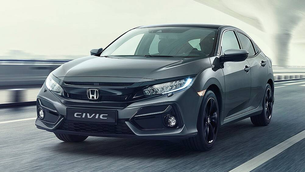 Honda Civic 2020 detailed: Updated exterior look revealed in Europe
