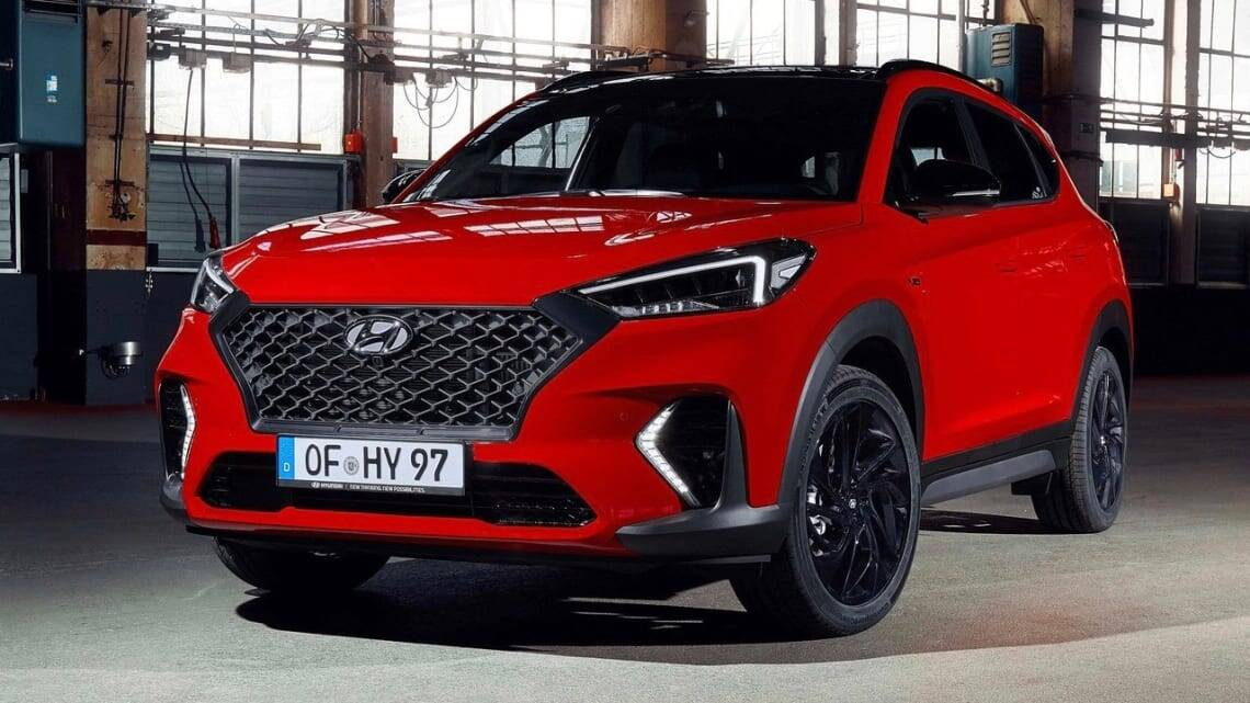 Hyundai Tucson N 2022 coming soon! New high-performance ...