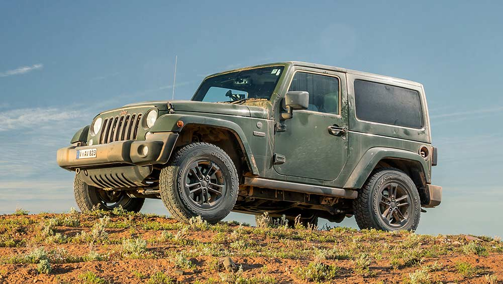 Jeep Wrangler 75th Anniversary 2016 Review Carsguide