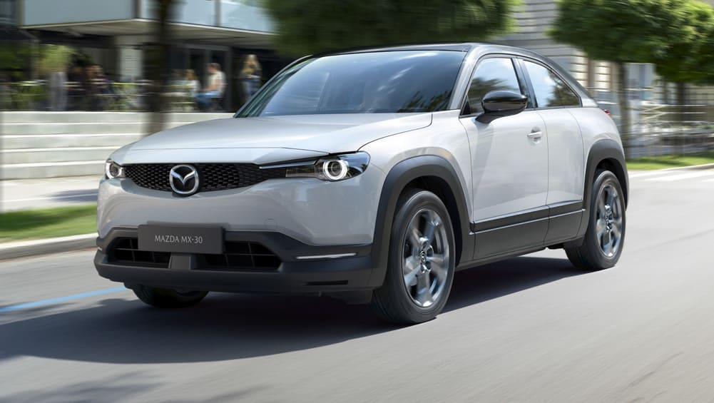 Mazda MX-30 2020 electric SUV goes official
