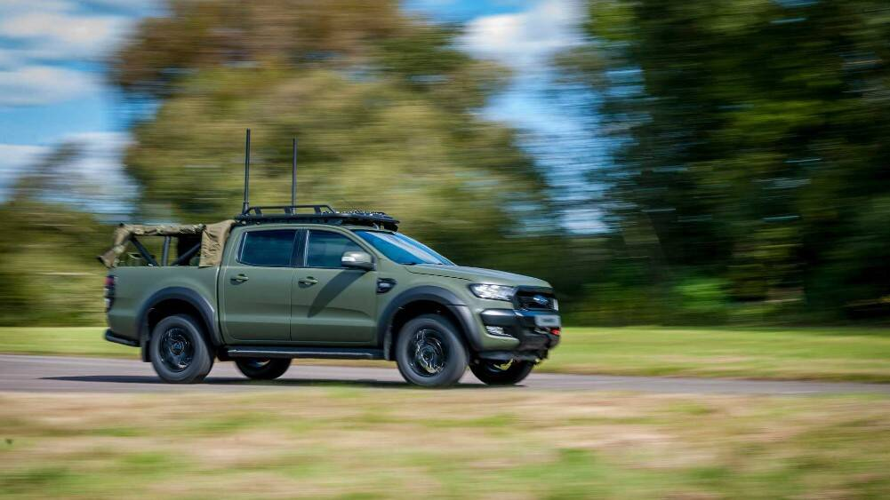Military-grade Ford Ranger revealed