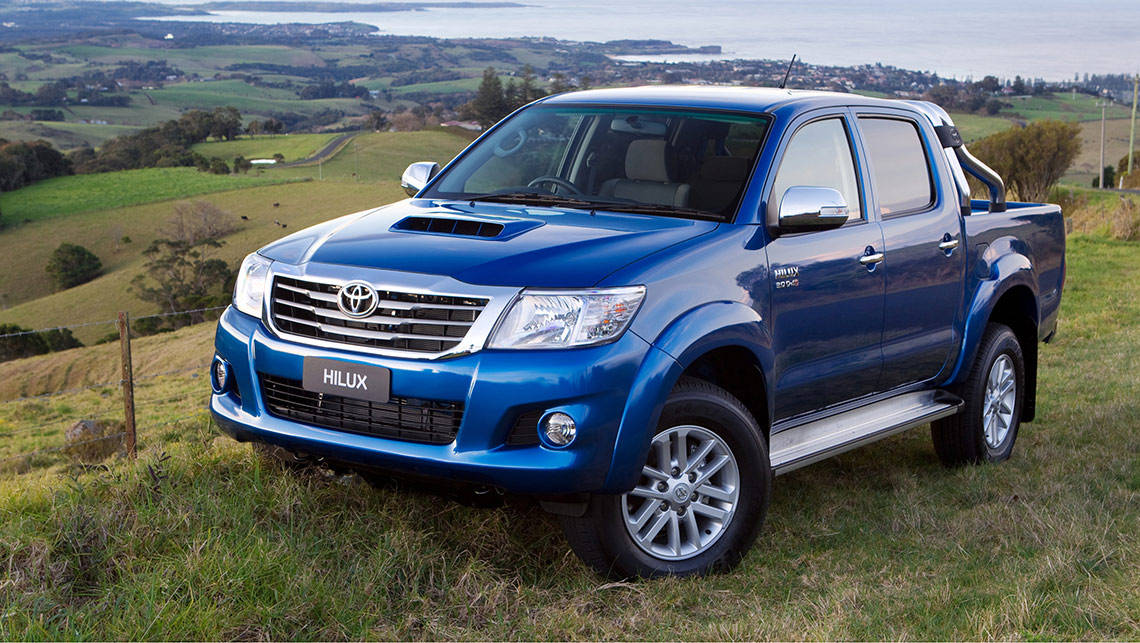 Toyota HiLux SR5 4WD dual cab turbodiesel 2014 review