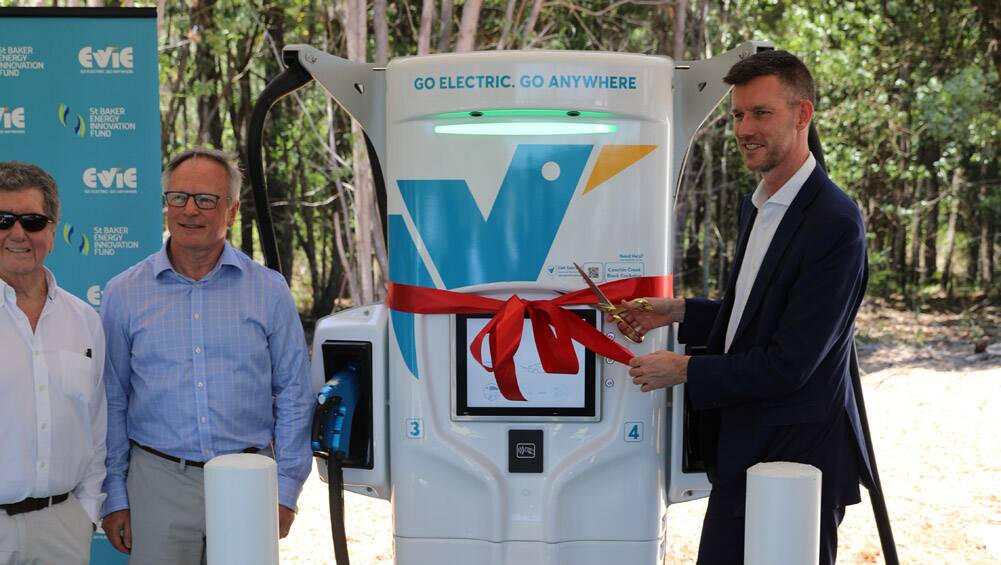 Australia's electric car charging network expands