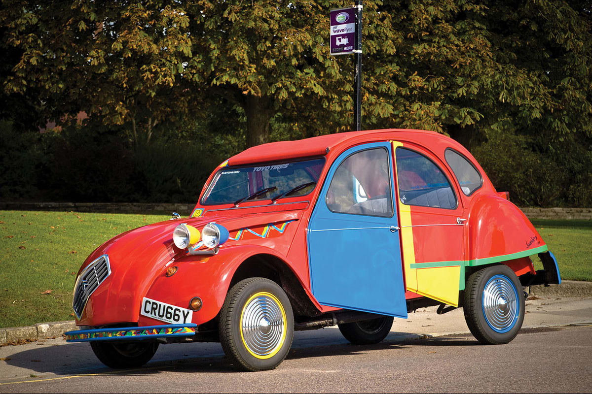 We Buy Used Cars >> This Citroen 2CV has been given the Picasso treatment ...