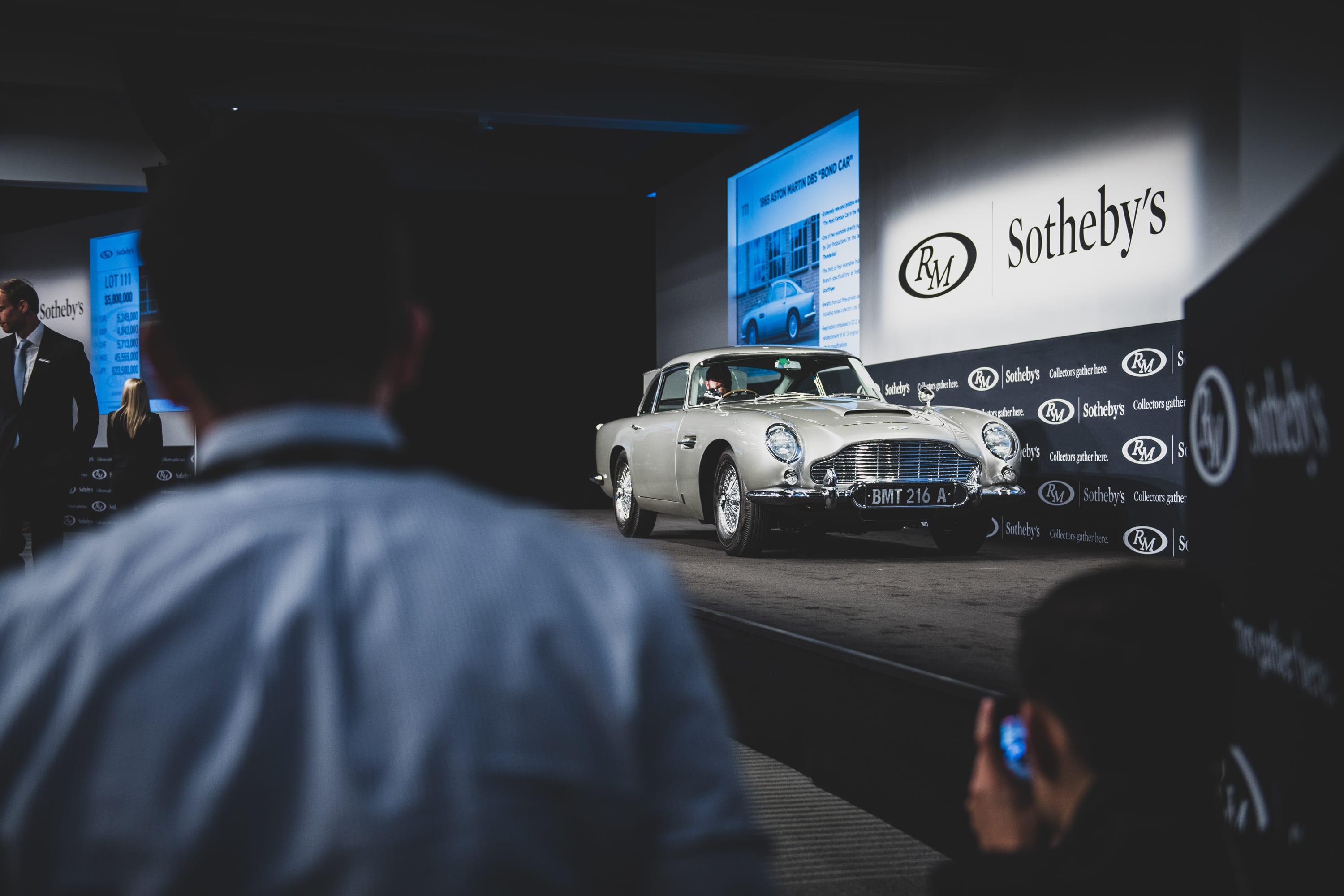 James Bond Aston Martin Db5 Sells For 9 4m Car News Carsguide