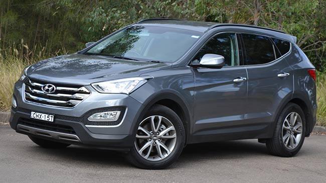 Hyundai Santa Fe Elite: review