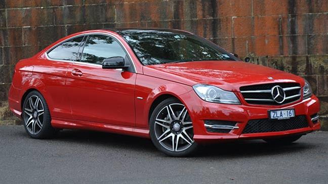 Mercedes-Benz C250 Coupe Sport review | video