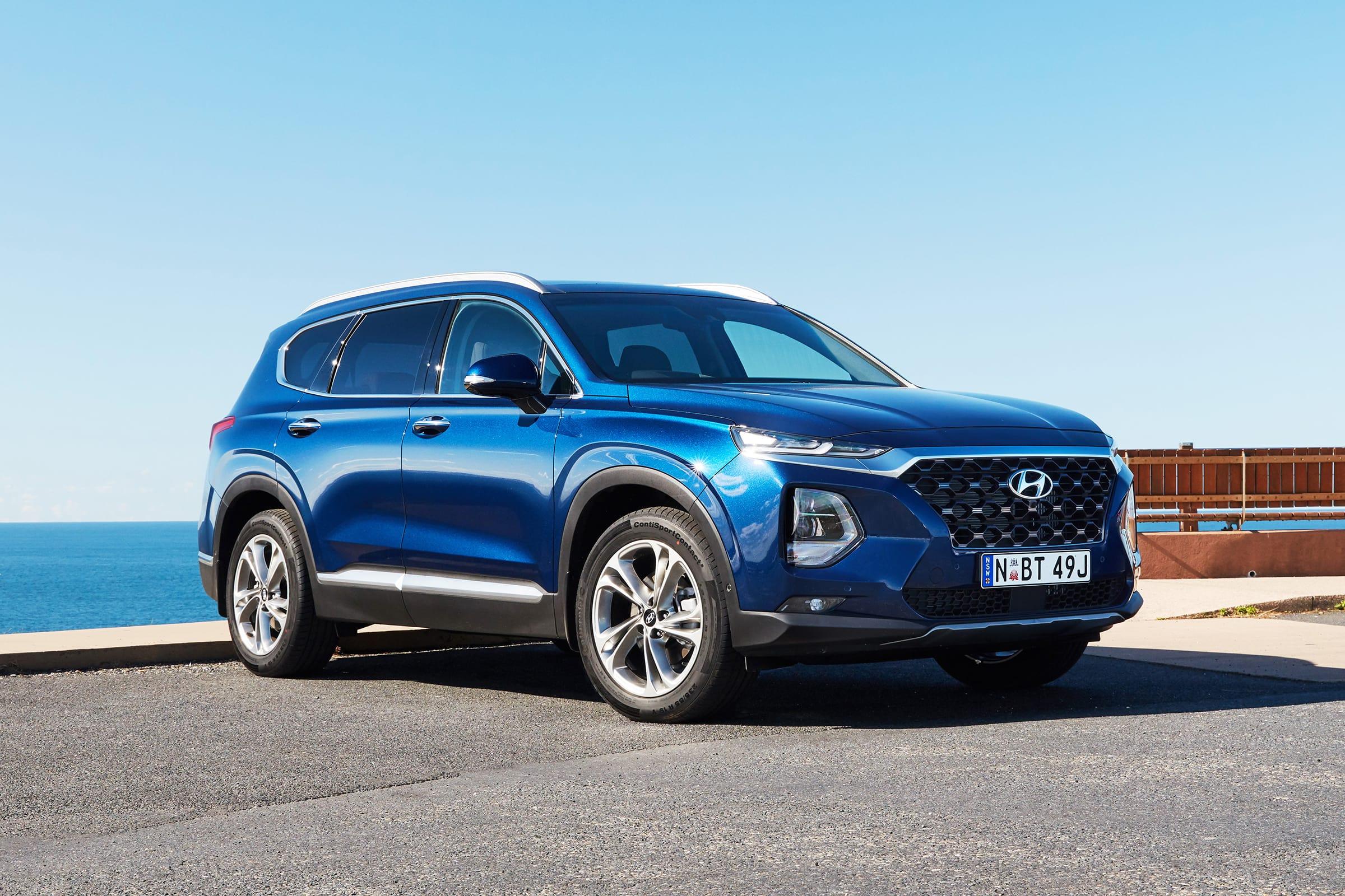 Hyundai Santa Fe Highlander 2019 Review Snapshot Carsguide