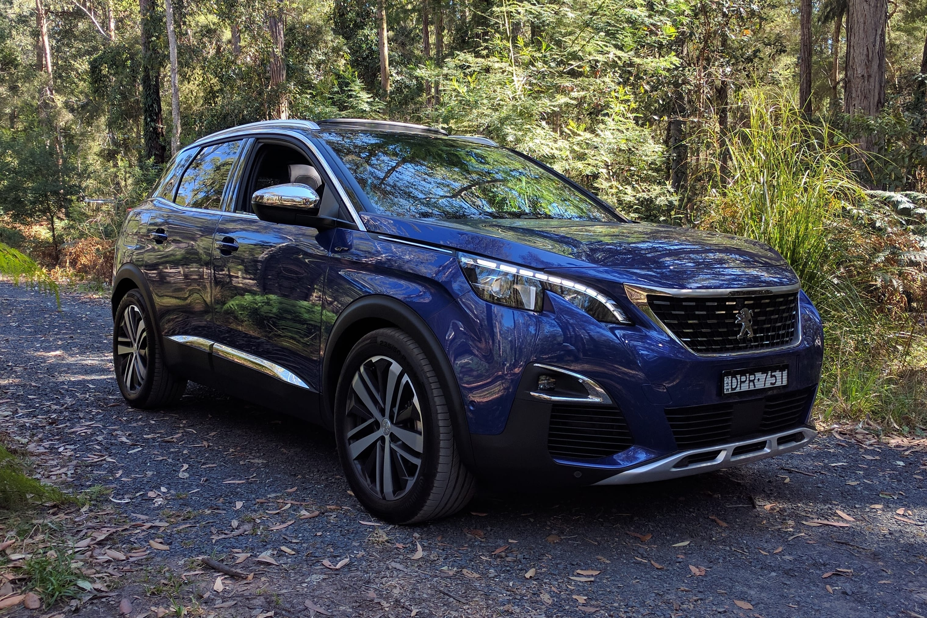 3008 peugeot gt magnetic suv carsguide test cars range weekend
