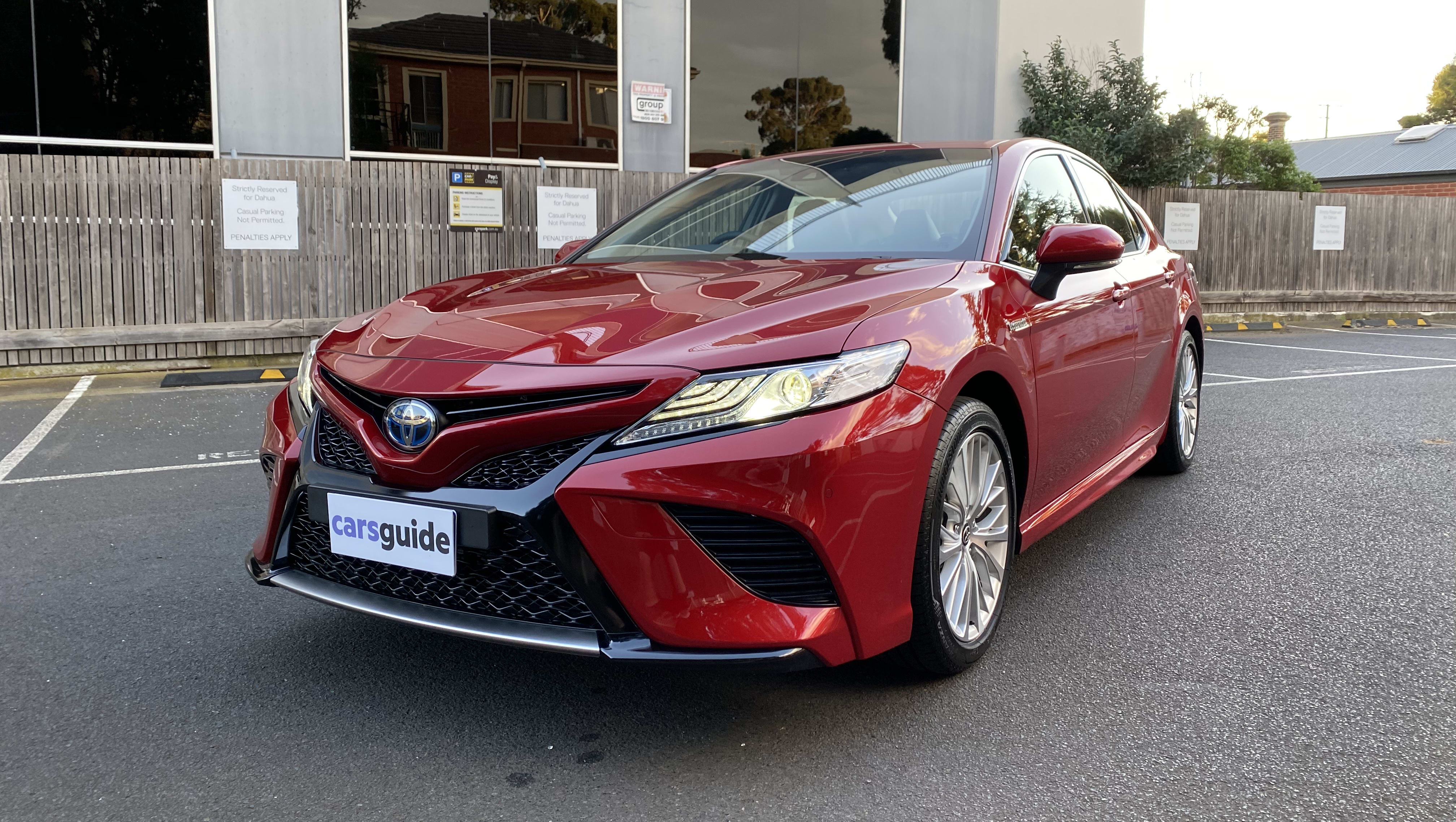 Toyota Camry Hybrid 2020 Review Sl Carsguide
