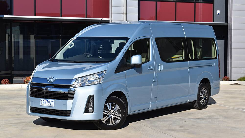 Toyota Hiace 2020 Review Commuter Carsguide