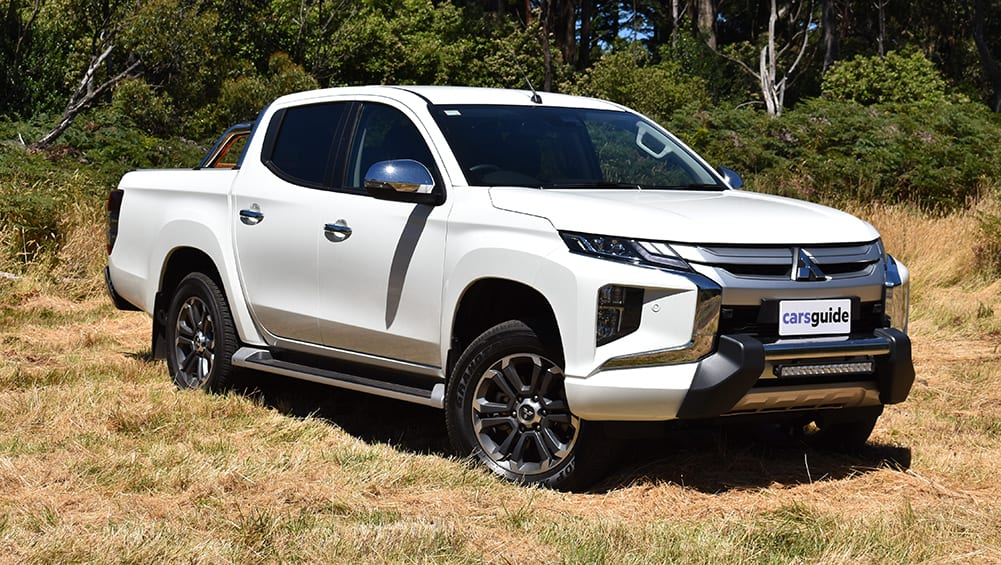 Mitsubishi Triton 2021 Review Gls How Does The 4x4 Dual Cab Perform At Gvm Carsguide