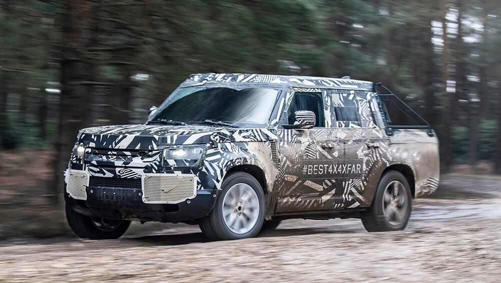 Defender Ute!: Land Rover considering Ford Ranger rival