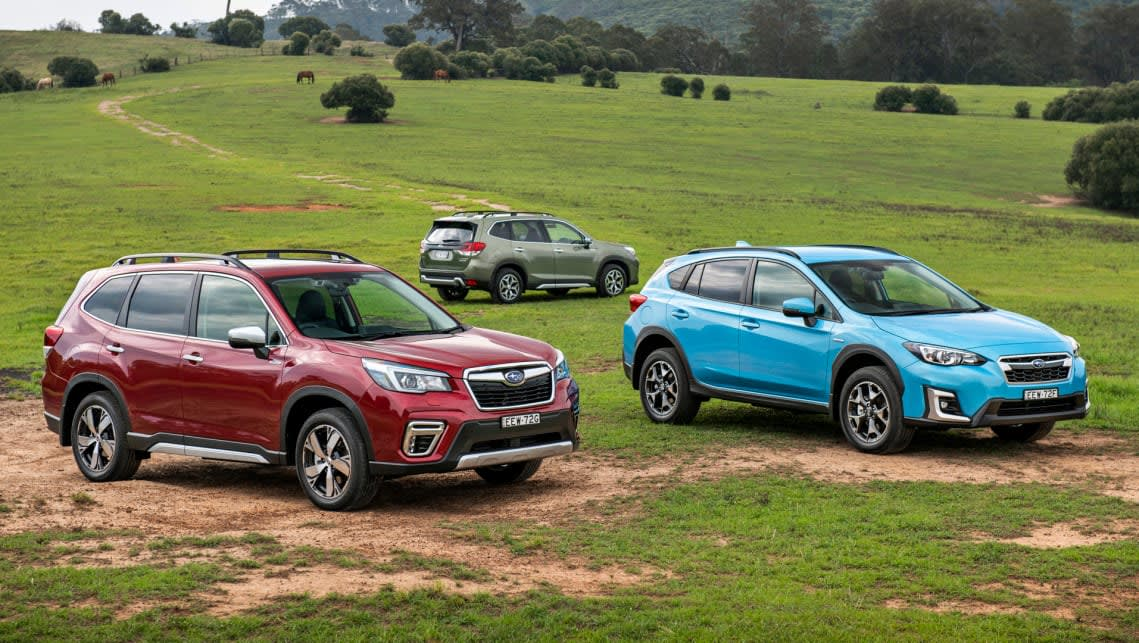New Subaru Xv And Forester Hybrid 2020 How Long You Ll Have To Wait For The Sell Out Successes Car News Carsguide