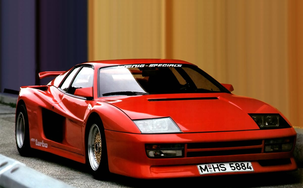 Thought The F40 Was The Wildest Ferrari Think Again Carsguide Oversteer