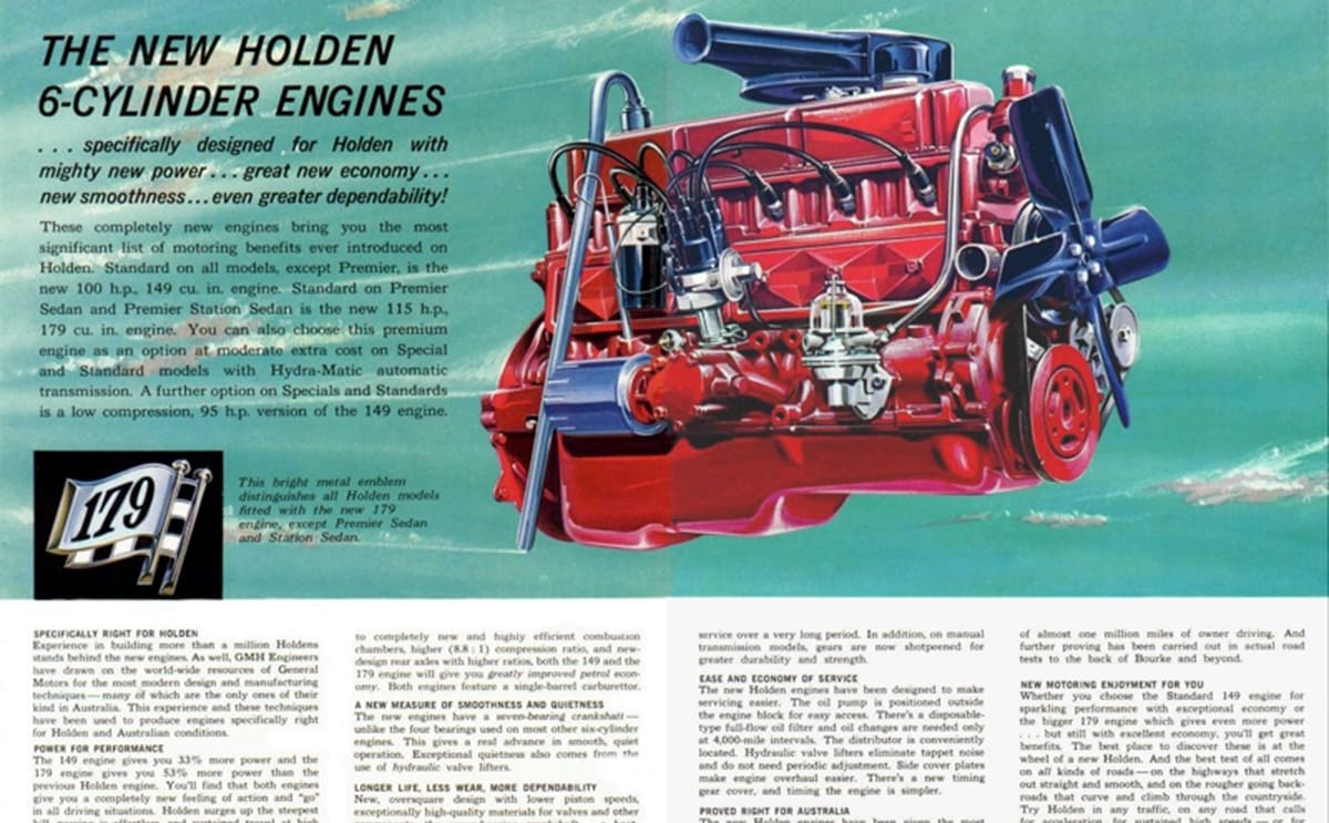 The Red Motor was one of Holden's best six-cylinder engines