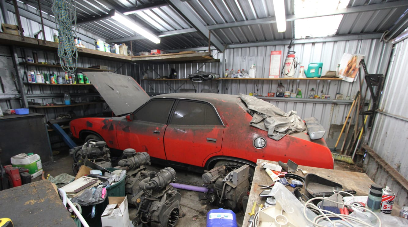 43cb36eb Holy Mothballs! The story of a perfect Falcon barn find | CarsGuide ...