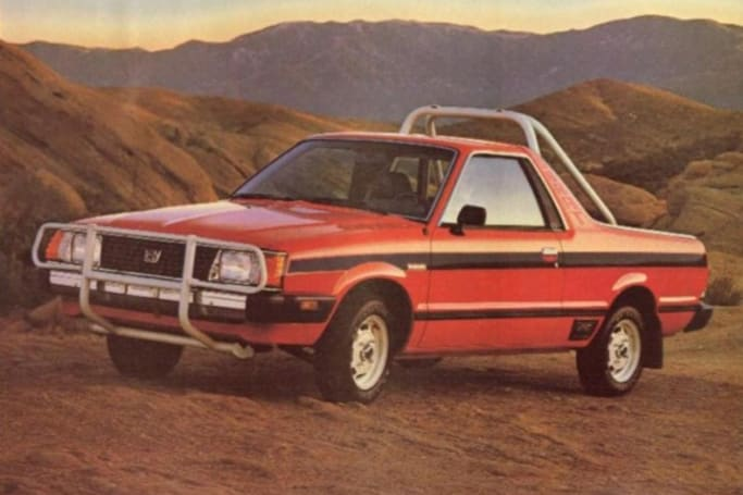 Here are five weird Subarus from 60-years of manufacturing