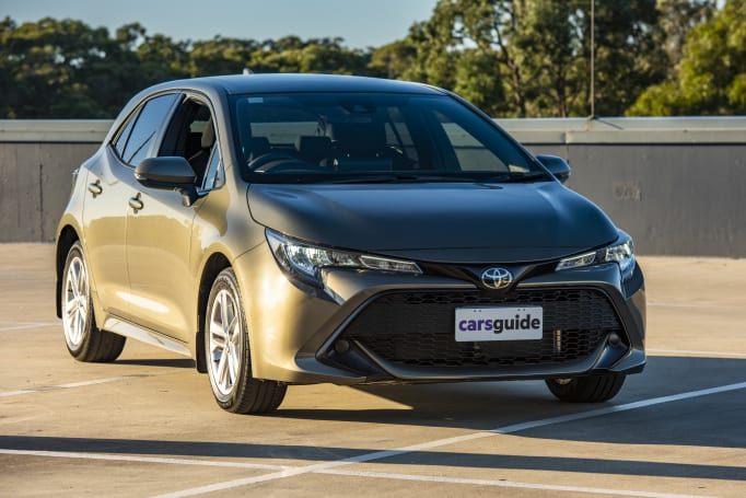 The Corolla is the go-to car for most motorists.
