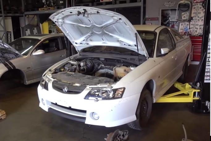 Holden Ute gets the Hoonigan treatment | CarsGuide - OverSteer