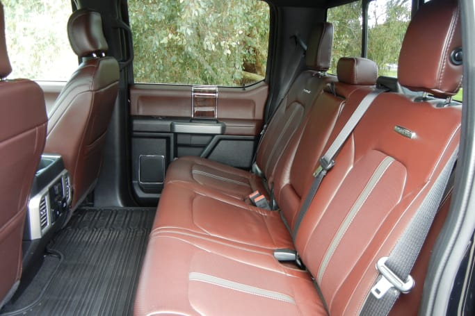 F350 Platinum Interior