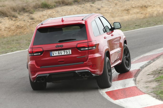 Jeep Grand Cherokee Trackhawk 2018 review | CarsGuide