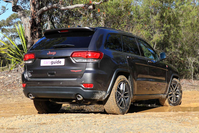 Jeep Grand Cherokee Trailhawk 2018 Off Road Review Carsguide