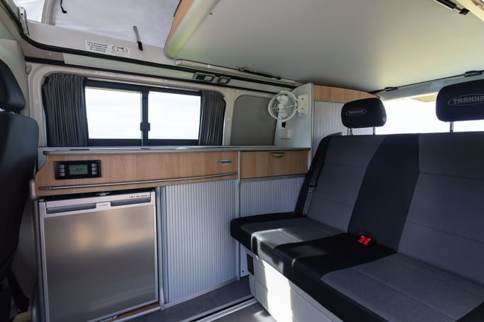 A campervan or motorhome is a vehicle-based accommodation that is built into the vehicle itself.