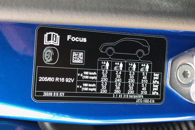 Ford Focus Tyre Pressure | CarsGuide
