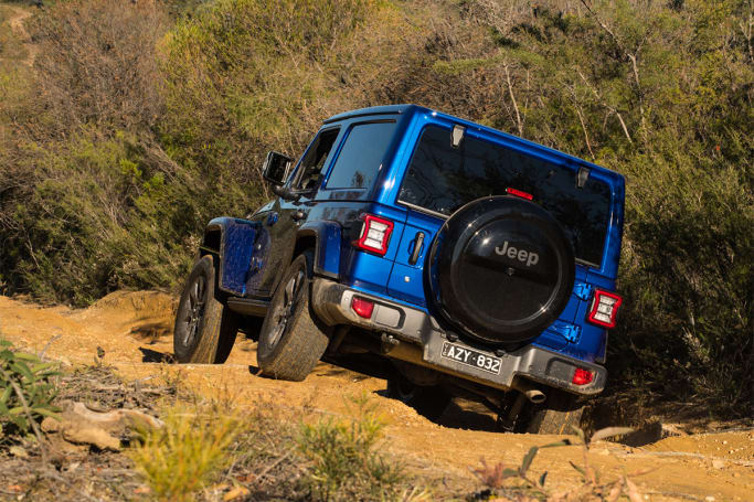 Jeep Wrangler Overland 2019 off-road review: Two-door