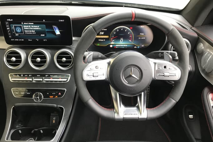 Mercedes C43 2019 review: snapshot | CarGuide