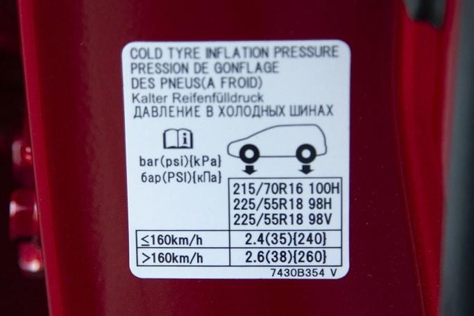 Mitsubishi Outlander Tyre Pressure | CarsGuide